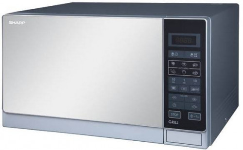 Sharp R 75mt 25 Liter Microwave Oven With Grill Price In
