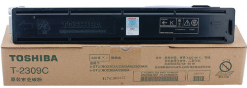 Toshiba T-2309C Black 17000 Pages Yield Photocopier Toner