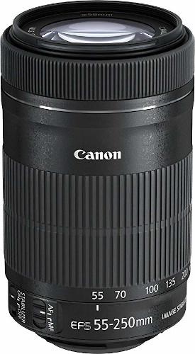 Canon EF-S 55-250mm f/4-5.6 IS STM DSLR Camera Lens