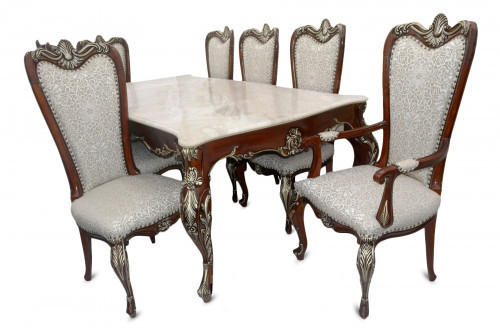 Exclusive Design 8 Chair Wooden Dining Table