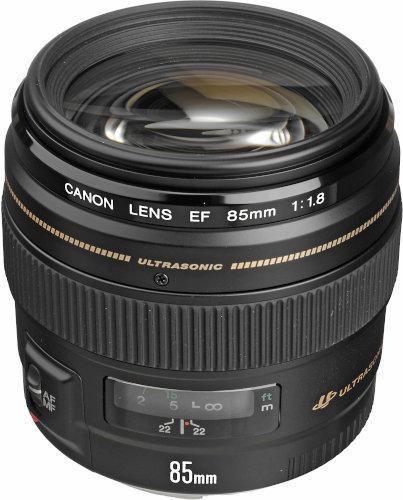 Canon EF 85mm f/1.8 USM EF Mount DSLR Camera Lens