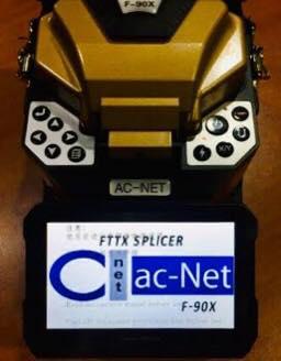 AC-Net F-90X Splicer Machine