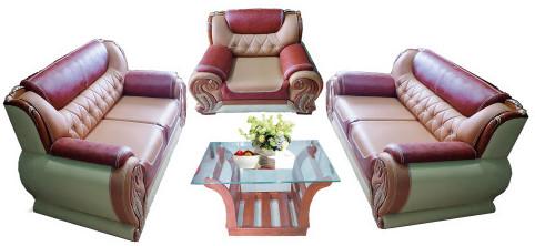 Excellent Leather Sofa Set  SR-54