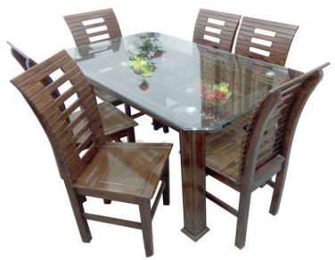 Stylish Dining Table with 6 Chair SR-D34