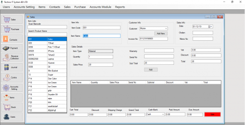 Easy Online POS Software