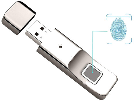 Anytek P1 32GB Smart Security Fingerprint Pendrive