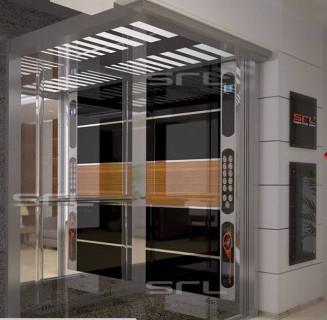 SRL 1250 Kg 17 Person Passenger Hospital Bed Elevator