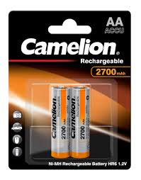 Camelion LB-AA2700BP4 Rechargeable Camera Battery