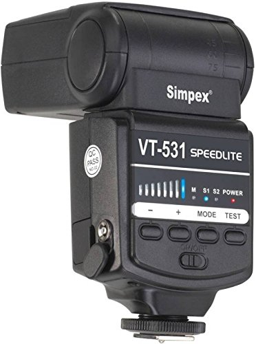 Simpex Speedlite VT531 Video Flash Light Studio Equipment