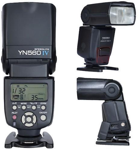 Yongnuo YN560 Speedlite IV Wireless Flash for Canon & Nikon
