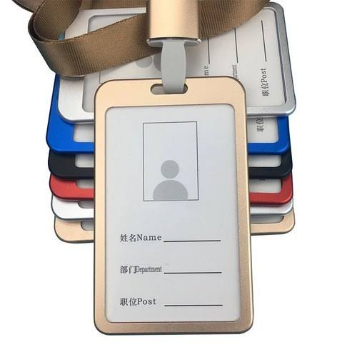 Aluminum ID Card Cover