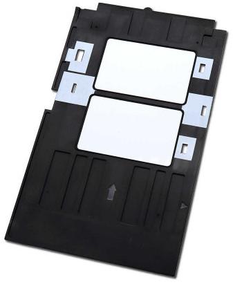 Inkjet ID Card Tray