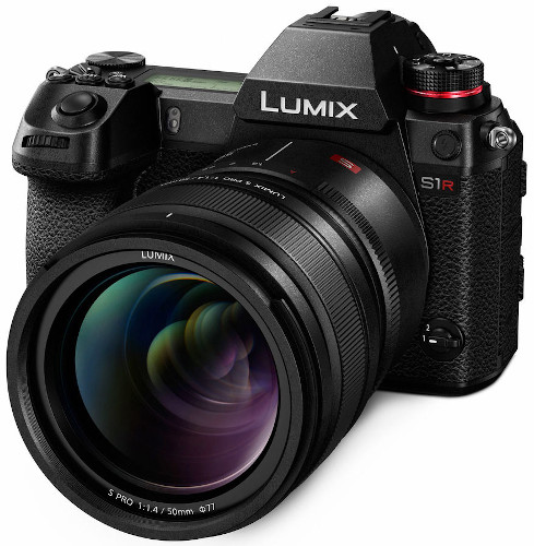 Panasonic Lumix S1R Full-Frame MOS Sensor