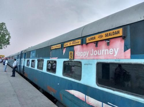 Kolkata to Ajmer Indian Train Ticket
