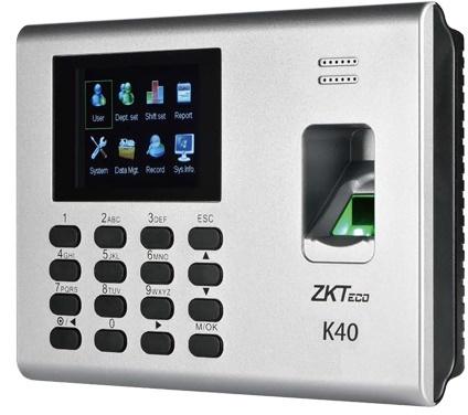 ZKTeco K40 Fingerprint Time Attendance
