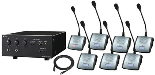 Toa TS-770 Wired Portable Conference Microphone System