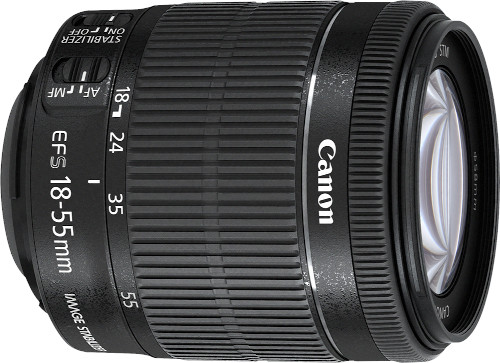 Canon 18-55mm EF-S IS II Silent Autofocus DSLR Camera Lens