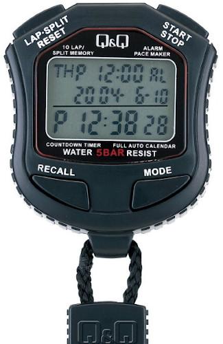Q&Q HS45-001 10-Lap Split Digital Stopwatch