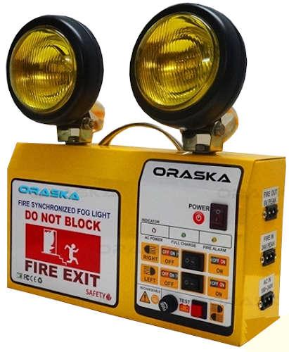 Oraska Fire Synchronized Fog Light