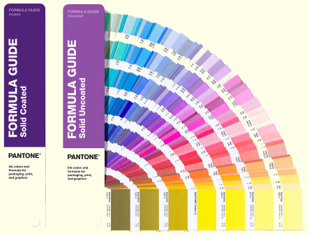 Pantone GP1601A Coated Uncoated Color Guide