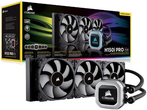 Corsair H150i Pro 360mm RGB Liquid CPU Cooler