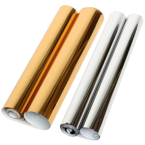 Mirrored Contact Paper PVC Vinyl Wallpaper Sticker Roll