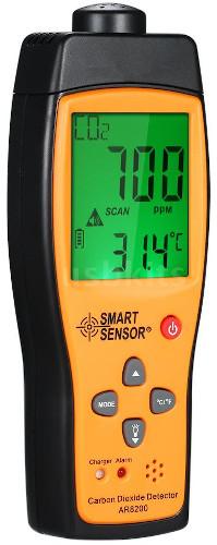 Smart Sensor AR8200 Carbon Dioxide Detector