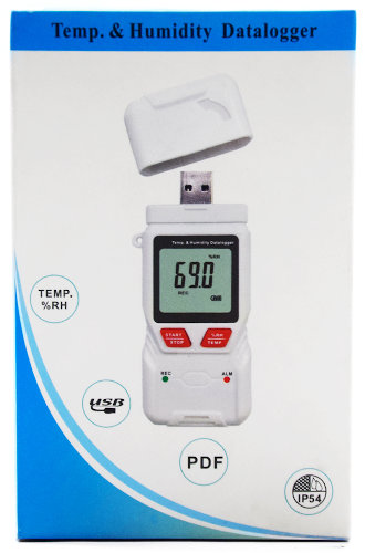 Temperature and Humidity Datalogger with Computer