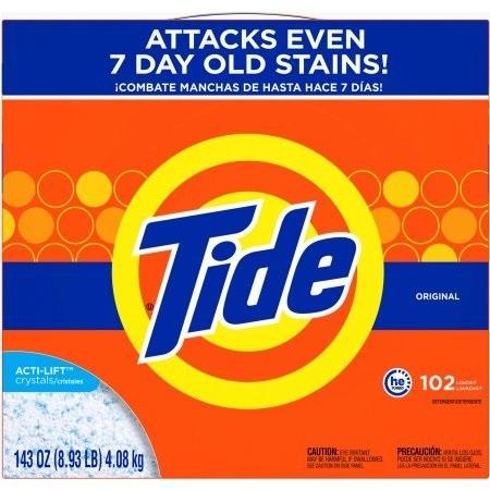Tide Original Scent HE Turbo Powder Laundry Detergent