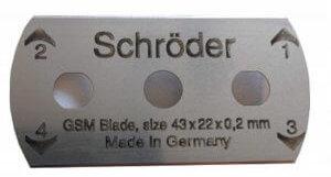 Schroder GSM Cutter Blade