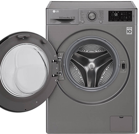 LG F4J6TNP8S 8Kg Washing Machine with NFC