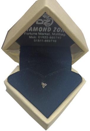 3 Star Diamond Nose Pin