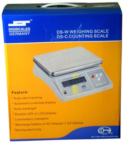 Digiscales 0.1g to 3Kg Counting Weight Scale