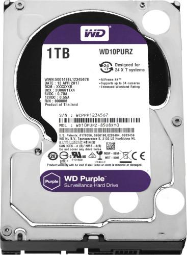 Western Digital WD10PURZ 1TB Surveillance Desktop HDD