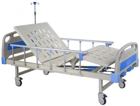 Hospital Bed 2 Manual Crank Central Lock YKB003